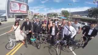 Emmy Nominee Tom Smuts of Mad Men Bikes 17-miles to the 2014 Emmy