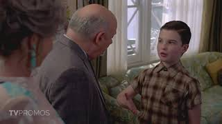 "Young Sheldon 3x05 Promo ""A Pineapple and the Bosom of Male Friendship"""