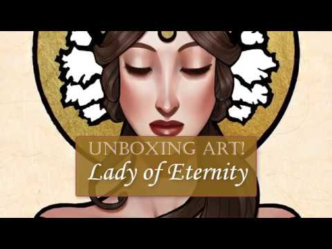 UNBOXING ART:  Lady of Eternity Limited Edition Art Print Bundle