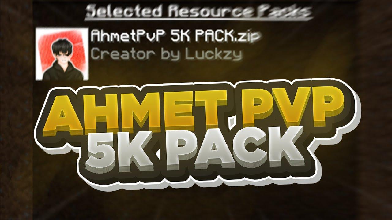 AHMETPVP 5K PACK! - sonoyuncu skywars