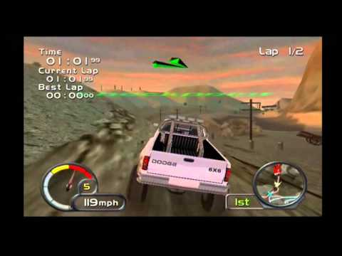 Test Drive Off-Road Wide Open (PS2) Gameplay 11 - Dodge Ram 6x6 T-Rex