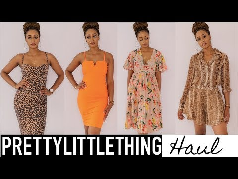 FIRST TIME ORDERING FROM PRETTYLITTLETHING - WORTH THE HYPE? #TALL GIRL
