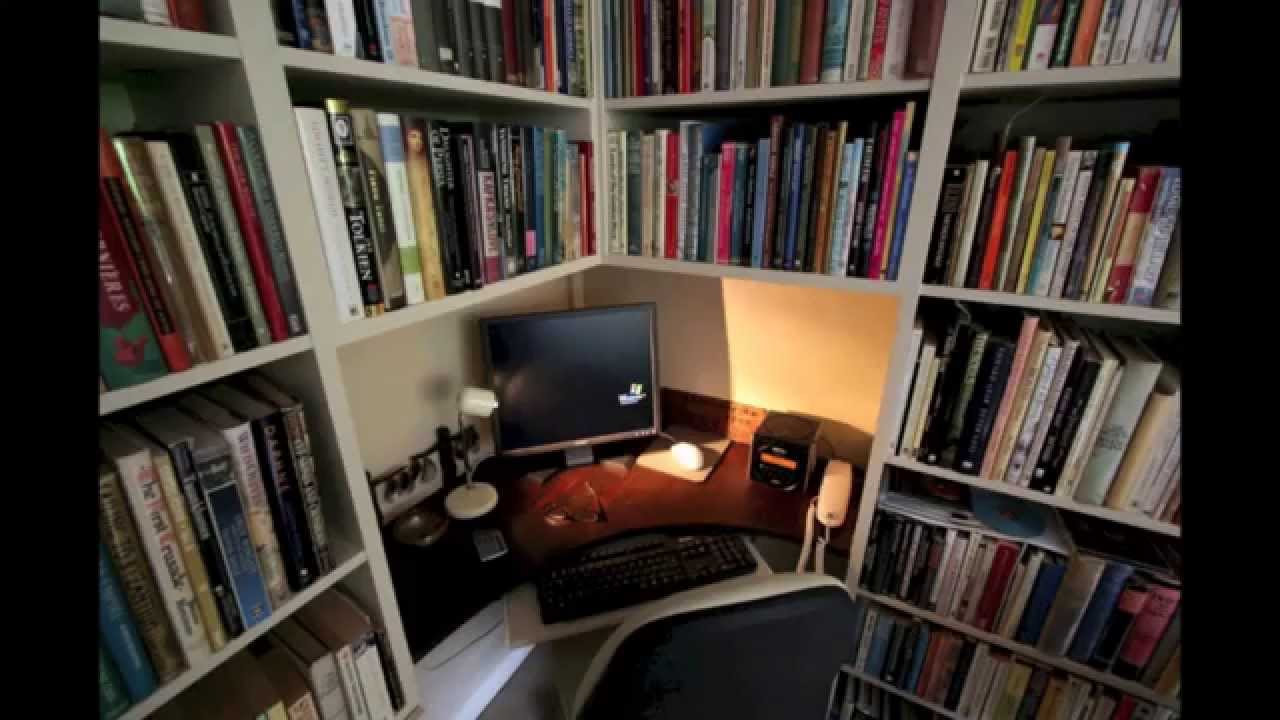 Fitted home office furniture ideas - YouTube