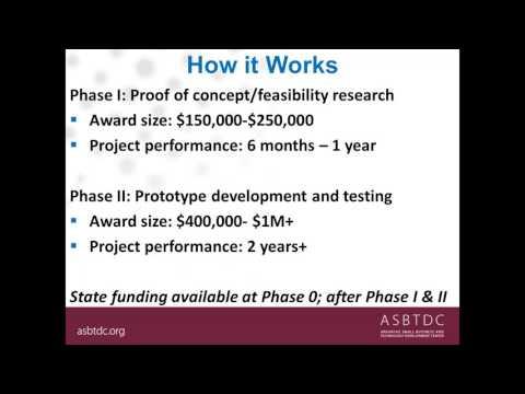Commercialization Strategies Using the SBIR/STTR Program