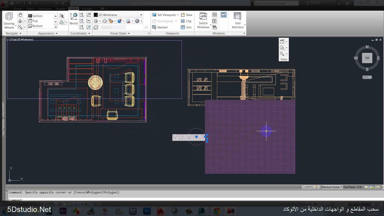 Elevation Plan On D Max : Dsmax to autocad section elevation doovi