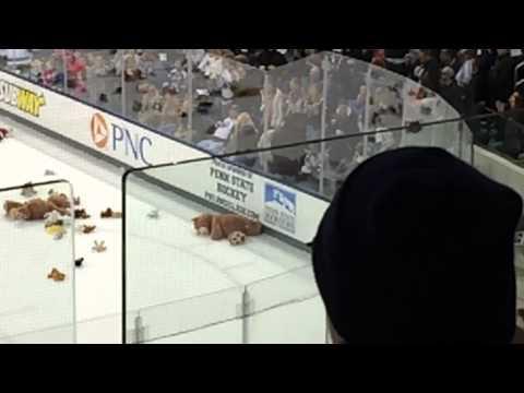 Pegula Ice Arena Teddy Bear Toss