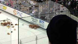 Pegula Ice Arena Teddy Bear Toss