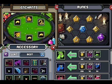 Bit Heroes Guide >> Bit Heroes Bonuses Guide Runes Enchants Accessories And Mounts