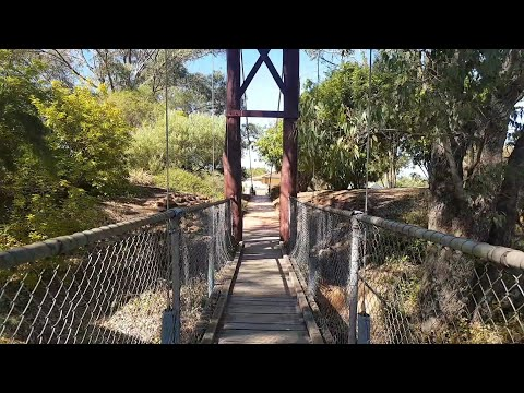 Suspension Bridge In Pinjarra