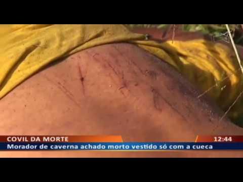 DF ALERTA - Homem achado morto com marcas de violência em matagal