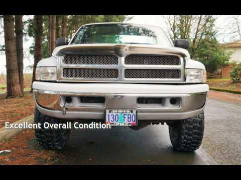 1999 Dodge Ram 2500 SLT 5.9L CUMMINS 4X4 Long Bed for sale in Milwaukie, OR