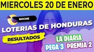 Sorteo 9PM Loto Honduras, La D…