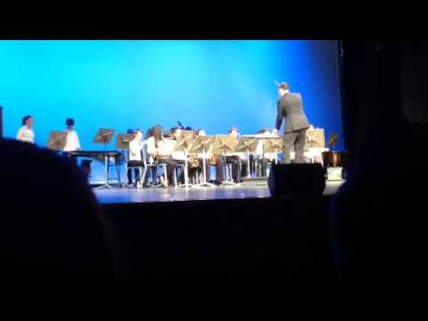 Crawfordsville middle school 6th grade band