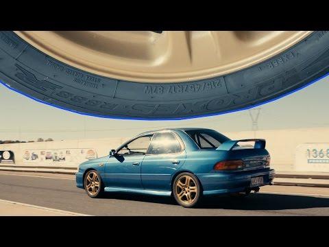 Motive Garage Budget Track Hack WRX -  Tyre Test Pt2 - Wakefield Park Raceway