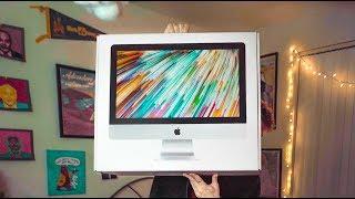 2019 21.5 inch 4k iMac UNBOXING