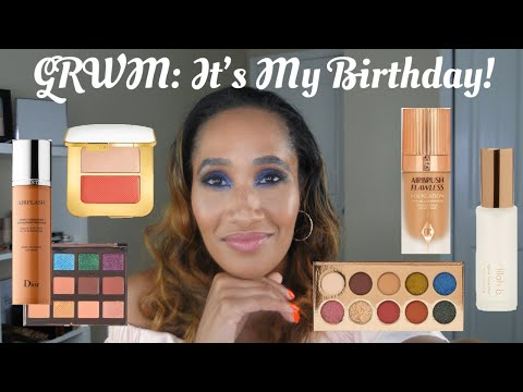 It's My Birthday! | GRWM: A Sapphire Eye Look & Some Boujee Makeup for My Birthday Look thumbnail