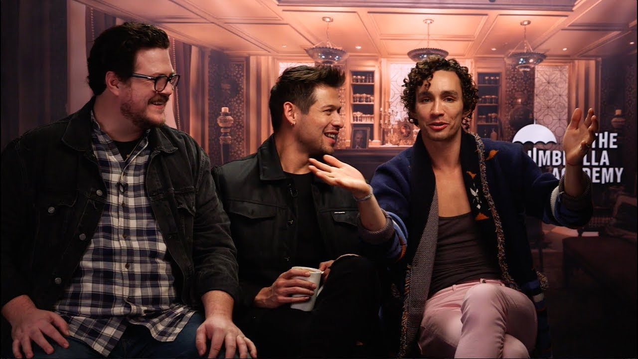 Cameron Britton, David Castaneda & Robert Sheehan talk ...