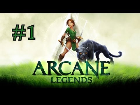 Arcane Legends [Google Chrome Browser] Gameplay Pt 1
