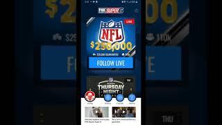 FOX NFL SUPER 6 APP HOW TO PLAY. screenshot 4