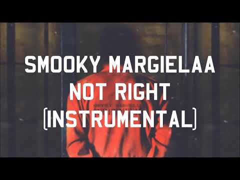 Smooky MarGielaa - Not Right (Free Meek Mill) (Instrumental)