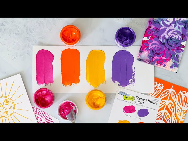What is Stencil Butter? A Comparison Close Up Studio Monday with Nina Marie
