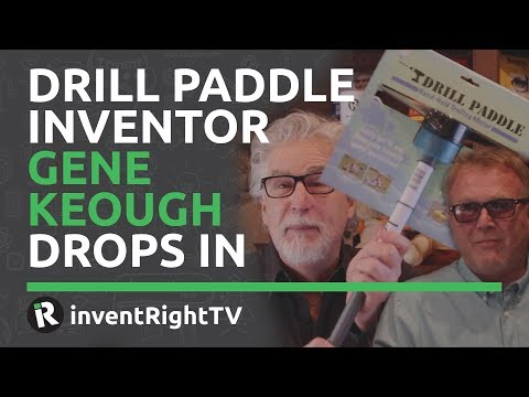 Drill Paddle Inventor Gene Keough Drops In