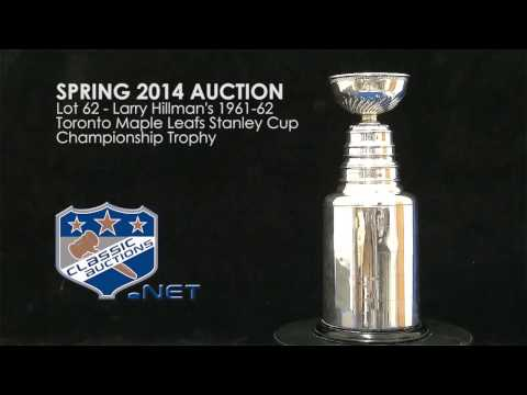 Larry Hillman's 1961-62 Toronto Maple Leafs Stanley Cup Championship Trophy
