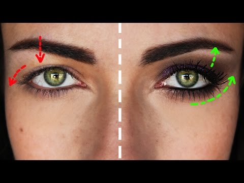 how to smokey eye for hooded droopy downturned eyes makeupandartfreak youtube. Black Bedroom Furniture Sets. Home Design Ideas
