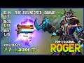 Level 15 Under 10 Minutes   Unkillable Phantom Pirates by    7      aizer     Top 1 Global Roger   MLBB