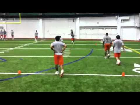 Donovin Darius: Syracuse University Football Training