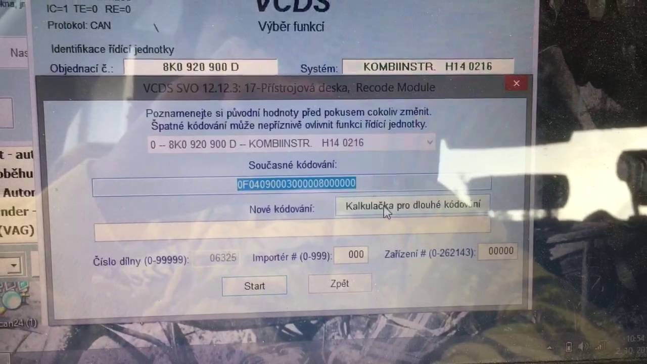 Audi Needle Sweep Activation With Vcds Vag Com Youtube