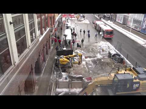 Rideau Street Infrastructure Development in ACTION-Ottawa-2017