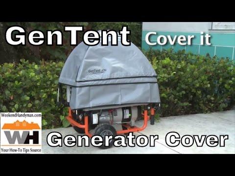 GenTent Wet Weather Protection Cover For Portable Generators | Weekend Handyman | #GenTentUSA