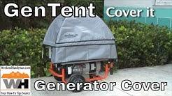 GenTent Wet Weather Protection Cover For Portable Generators   Weekend Handyman   #GenTentUSA