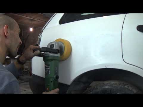 Как быстро и просто отполировать авто