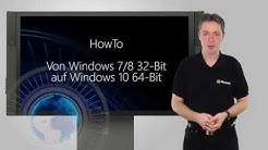 HowTo: Windows 32-Bit auf 64-Bit