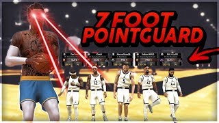7 FOOT POINT GUARD vs THE BEST RECORDS in NBA2K19