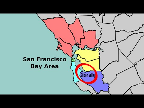 The Difference between San Francisco, Silicon Valley, and the Bay Area Explained