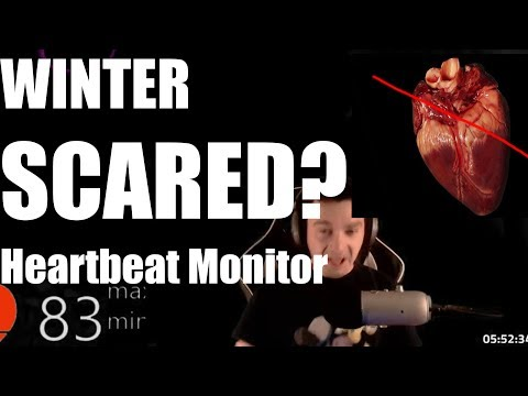 STARCRAFT 2 HORROR GAME + HEARTBEAT MONITOR  Winter Scared?! The Haunted Forest FML