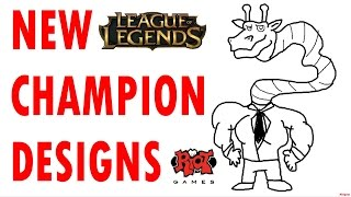 League of Legends New Champion Designs - Behind the Scenes