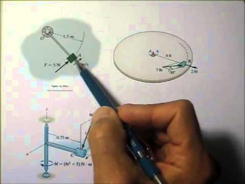 Dynamics 15.7a Angular Momentum Impulse