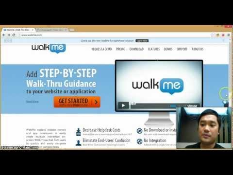 WalkMe demo