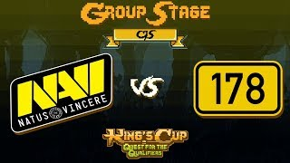 NaVi vs jfshfh178 Game 2 - MDL Chengdu CIS Qualifiers: Group B