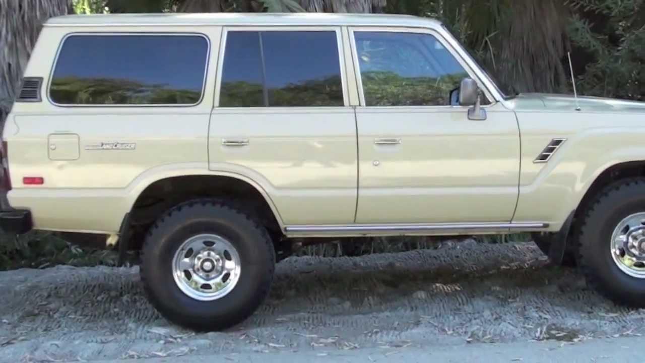 Tan 1984 Fj60 Land Cruiser For Sale Youtube