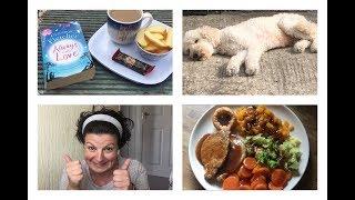 What I Eat | Family Emergencies, Charity Shop Haul & Happy Mail | Katy Jayne