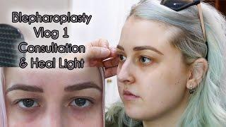 My Eyelid Surgery Consultation | Cosmetic Blepharoplasty Diary Part 1