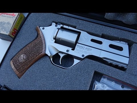 Chiappa Rhino 40DS .357 Magnum Revolver First Look (HD)