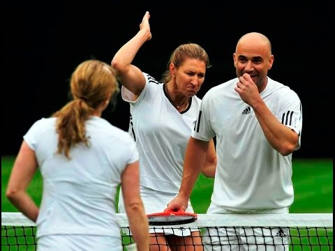 Steffi Graf And Andre Agassi, A Perfect Couple In Their Career And Life
