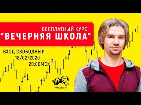 Открытый урок: Вечерняя школа с Алексеем Орловым I Все о трейдинге