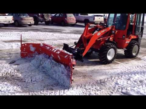 Metal Pless Rubbermaxx snow plow
